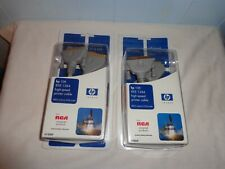 2 RCA UNIVERSAL PRODUCTS LOT HP INVENT 10FT IEEE 1284 HIGH-SPEED PRINTER CABLE