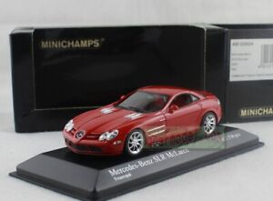 1/43 Scale MINICHAMPS Mercedes Benz SLR McLaren Feueropal 2003 Red Diecast