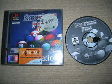 AMERICAN POOL - Rare Sony Playstation PS1 / PS2 Game
