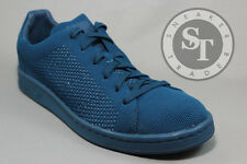 ADIDAS ORIGINALS STAN SMITH PK PRIMEKNIT S80067 TECH STEEL NAVY BLUE SIZE: 9