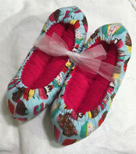 Cupcakes Super Puffy Ice Skate  Soakers Blade Covers Size M (Add'l Sizes)
