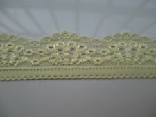 new 5 yards beautiful yellow lace stretch lace yarn pressure width 3 cm