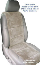 SHEEPSKIN SEAT COVERS 1 PLUSH VEST INSERT FINEST QUALITY AUSTRALIAN 4 COLORS ©