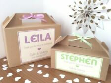Brown Wedding Favor Bags/Boxes