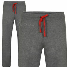 Pack of 2 Mens Ex Store Cotton Jersey Grey Lounge Pants Sizes S M L XL 2XL