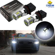 2x Xenon White 50W P13W CREE LED Bulbs For Audi A4 Q5 Daytime Running Lights DRL