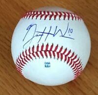 Garrett Williams San Francisco Giants Signed Autograph Baseball