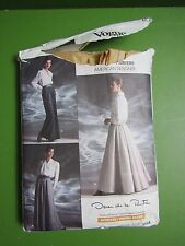 VOGUE PATTERNS Oscar de la Renta Pattern #1934 Size 12-14-16 / cut for 16