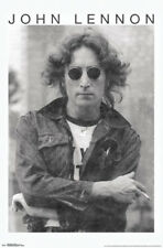 John Lennon New York City 1974 Smoking In Sunglasses Classic Rock Music Poster