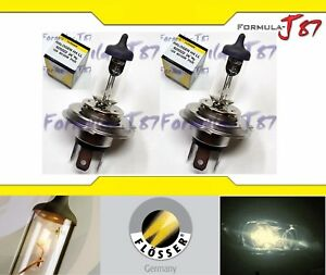 Flosser 9003 HB2 H4 60/55W 625522 Two Bulbs Head Light Replacement Dual Beam OE