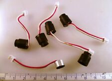 More details for electret condenser mic vl on 50mm leads to molex plug 5 pieces om0999a