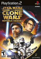 Star Wars the Clone Wars: Republic Heroes PS2 New Playstation 2