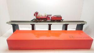 Rivarossi/Pocher HO Train V&TRR 2-4-0 Bowker Powered Steam Locomotive & Tender