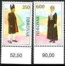 FAROE ISLANDS - 1989 - Costumi nazionali -