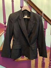 Agnes B. Paris Size 1 Wool France Blazer Lined  Vintage 4-6 Usa Vguc French CL