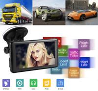 GPS Navi Navigation für Auto LKW 5 Zoll 4GB Kostenloses Karte Navigationsgerät
