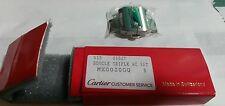 Fibbia acciaio deployante Originale Cartier Santos 100 attacco cinturino 21mm
