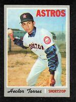 1970 Topps #272 Hector Torres Houston Astros Baseball Card EX+