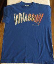 Vintage 2000 Budweiser WHASSUP! True Vtg BEER Promo RARE Large? T-shirt