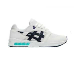 ASICS Tiger Boy's Gel-Saga SOU GS Shoes White / Midnight Size US 4 Youth New
