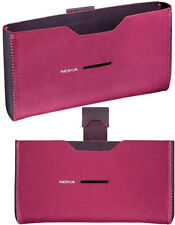 Nokia E7,C7 Slip-in Pouch in Red Original Brand New & Sealed in Original package