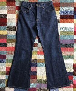 Ladies Chevignon Jeans Size 28 L 31 Dark Blue Denim Bootcut