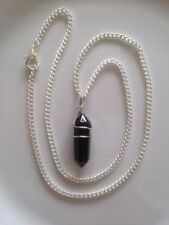 Quartz Gemstone Silver Plated Costume Necklaces & Pendants