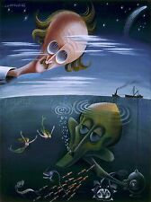 PAINTING SURREAL PICCARD BEEBE COVARRUBIAS ART POSTER PRINT LV2908