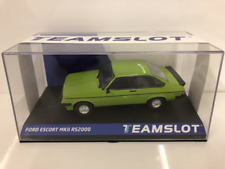 Team Slot 12708 Ford Escort MKII RS2000 Green Limited Edition 1 of 200 Pcs