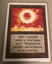 MTG MAGIC THE GATHERING UNLIMITED SOL RING MP