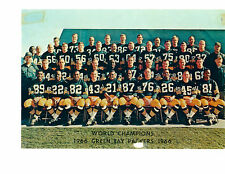 1966 WORLD CHAMPION GREEN BAY PACKERS  8X10 TEAM PHOTO  FOOTBALL SUPER