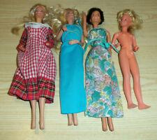 Vintage 70's Barbie Doll Lot - 1979 Mattel Bend Wrists, 1977 Ideal, 1978 Mattel