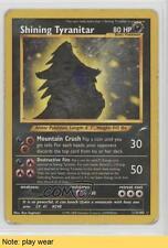 2002 Pokemon Neo Destiny #113 Shining Tyranitar READ Card 5i3