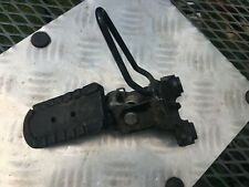 Cagiva Elefant 900ie right hand rider footrest assembly