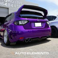 2008-2014 Subaru Impreza/WRX/STI | Auto Elements Oracal Smoked Overlay Films