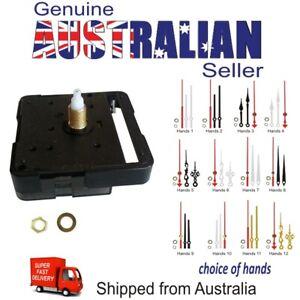 Quartz DIY Silent Mechanism Clock Movement plus Hands Repair Kit AU 22.5 /14.8mm