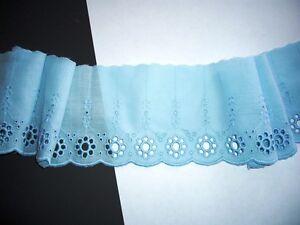 Farbige Baumwollspitze aus eigener Herstellung BS 27
