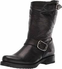 FRYE Women's Veronica Short Boots Black Leather - Pick Size