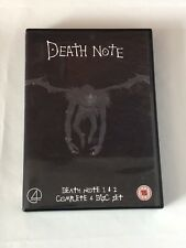 Death Note 1 and 2 COMPLETE 4 DISC SET  TV Series DVD BOXSET