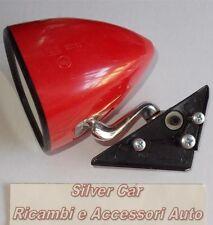 Specchio retrovisore ROSSO attacco con 3 viti Fiat 131