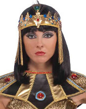 Womens Egypt God Princess Egyptian Cleopatra Queen Gold Headband