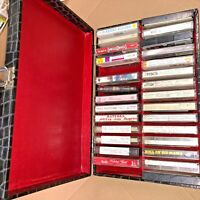 Lot 25+ Music Collection Cassettes + Winston Cigarette Holiday Christmas sealed