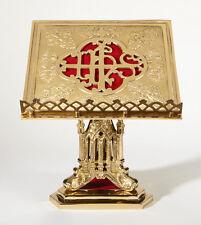 "Church Chapel San Pietro Missal Stand 11-1/2"" Square, Base 7-3/4"""