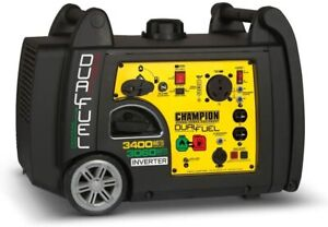 Champion 3400-Watt Dual Fuel generator/inverter