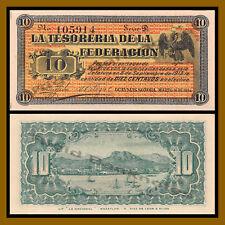 Mexico 10 Centavos, 1914 P-S1058 Sonora Guaymas Unc