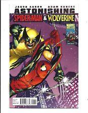 ASTONISHING SPIDER-MAN & WOLVERINE # 1 (JUL 2010), NM