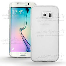 Cover Case Ultra Thin Slim TPU Gel Skin Pouch for Samsung Galaxy S8 S6 Edge