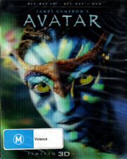 Avatar 3D Blu-Ray + DVD with 3D Hologram Style Lenticular Cover
