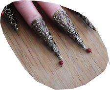 EIN Ring Vintage knuckle gotisch gothic steampunk punk Klaue, fingerspitzenring