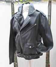 Lederjacke Jacke Bikerjacke Gr. 54 Rockwear wie neu mit Reissverschluss schwarz